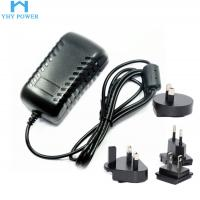 Quality 12V 2A 24W Ac To Dc Power Converter , Interchangeable Universal Ac Dc Adapter for sale