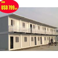 Buy cheap prefabricated 20ft mobile office european container house luxury product