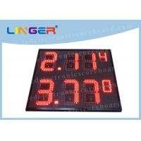 China IP65 Frame Outdoor Led Signs Prices Wireless For Highway Service Station on sale