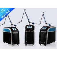 Buy cheap High Frequency Picosecond Laser Tattoo Removal , Q Switch Nd Yag Pico Laser For Tattoo Removal product