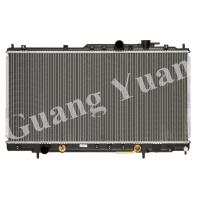 Buy cheap Hard Brazd Mitsubishi Pajero Radiator , Aluminum Core Radiator DPI 2406 product