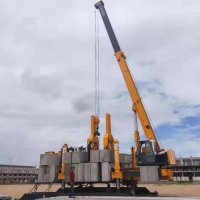 Buy cheap High Speed Hydraulic Sheet Pile Driver ZYC Series With Pushing Cylinder For Spun Pile product