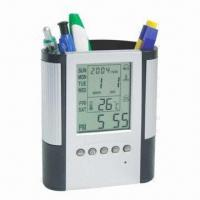 Buy cheap Pen Holder with Alarm Clock/Music, Snooze Mode and Calendar from wholesalers