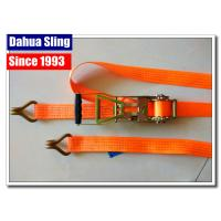Buy cheap Rubber Handle 2 Inch Ratchet Straps With Flat Hooks Mini Tie Down Straps product