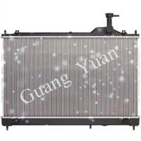 Quality Welding Aluminum Mitsubishi Car Radiator For Outlander Plastic Tank PA66+GF30 for sale