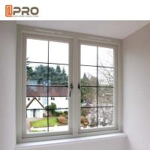 Buy cheap Dual Glass Aluminium Casement Windows Horizontal Opening Pattern casement sliding window casement aluminium window product