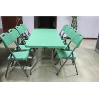China 6 Foot Green Fold-in-Half Table (SY-183Z) on sale