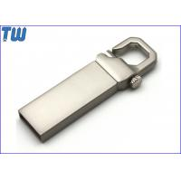 China Slim Metal Rectangle Buckle 2GB USB Memory Stick Thumb Drives on sale