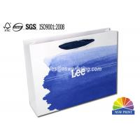 Buy cheap Upscaled 200g Coated Custom Paper Shopping Bags For Clothes Apparel from wholesalers