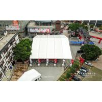 Buy cheap Large clear span aluminum and PVC tent for sports court, Temporary structure for Sport Hall, Large Sports Tent product
