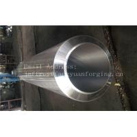 Buy cheap S355NL Hot Rolled Forged Bar Forged Sleeves Pipe With PED Certificate Machined product