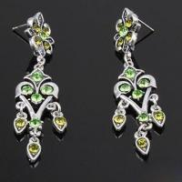 Buy cheap Fashionable Drop Earrings, Made of Zinc Alloy and Metal, Suitable for Ladies product