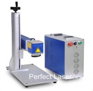 Buy cheap 50Watt High Power Animal Ear Tag Laser Marking Machine / Fiber Laser Marker product