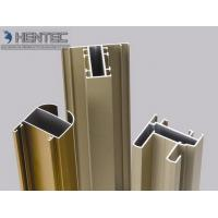 Buy cheap Gold Anodized Aluminum Window Extrusion Profiles , Extruded Aluminum Window Frame product