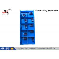 Buy cheap Nano Coating Tungsten Carbide Inserts APMT1135 - H2 HRC55 Hard Material product