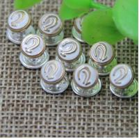 Buy cheap 2018 Spring new pink color zinc alloy hardware 7 mm ear pattern bang nail rivets for clothing luggage product