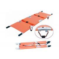 Buy cheap CE ISO Aluminum Alloy Rescue Folding Stretcher Medical Emergency Stretcher (ALS-SA110) product