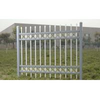 China Morden Gates Beautiful House Fences Metal Post White Vinyl Coated High Strength on sale