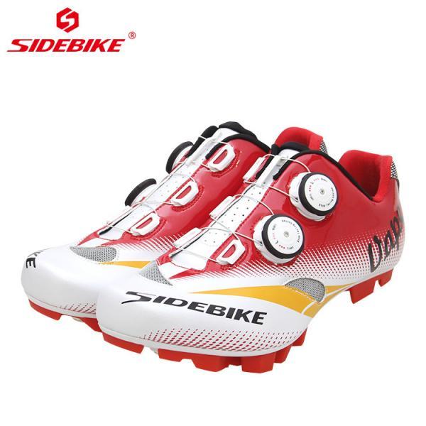 Quality Men Mountain Cycling Shoes / MTB Bike Shoes SPD Mountain Bike Shoes With Atop for sale