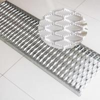 Buy cheap Mezzanine Aluminum Safety Grating Simple And Beautiful Appearance Long Lifespan product
