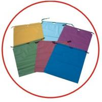 Buy cheap Colourful Plastic Drawstring Carrier Bags For Apparel / Garments / Clothing product