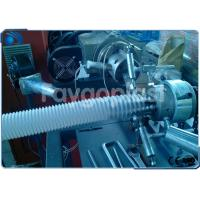Single Screw Plastic Extrusion Equipment For Producing Spiral Type Extensible Hose