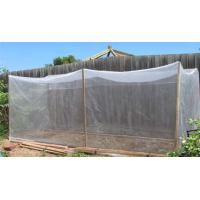 China Silver Grey 45gsm Insect Proof Garden Netting 0.6 * 0.6mm Odorless For Small Shed on sale