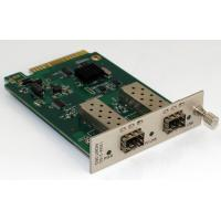 Buy cheap 2 Channel Manageable Media Converter Optical Converter Card 850nm product