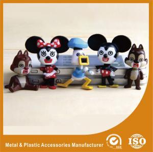 China PVC Cartoon Vinyl Collection Plastic Toy Figures Multicolor Finishing Mini Design on sale