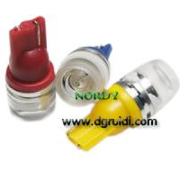 Buy cheap Led Signal bulb T10 1.5W high power led interior signal lighting with lens product