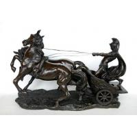 Buy cheap Horse Sculpture with Carriage, Running Horse Sculpture product