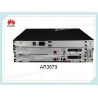 Buy cheap Huawei AR3600 Series Router AR3670 2 SIC 3 WSIC 4 XSIC 700W AC Power from wholesalers