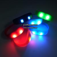 Buy cheap Cheap Silicone led wristband vibrating, A Concert Must-Have - LED Wristbands product