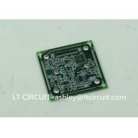 Buy cheap Immersion Silver Multilayer PCB BGA IC Slots Cutout Green Solder Mask product