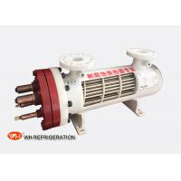 Buy cheap Dry Type U Tube Titanium Heat Exchanger For Heat Pump 209KW Cooilng Capacity product