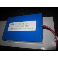 Buy cheap 36v 10ah Lithium Battery , Polymer Rechargeable Electirc Car Lifepo4 Cell product