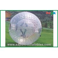 China PVC / TPU Adults Human Hamster Ball Costco Transparent For Rental on sale