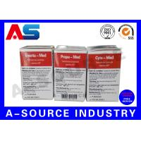 Buy cheap Paper Medicine Carton 10ml Vial Boxes Labels Printing Matte Finish from wholesalers