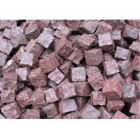 Buy cheap Granite Outdoor Natural Paving Stones For Garden / Patio Red Porphyry product