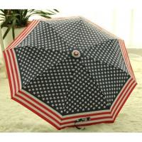 China New-Flag-Folding-Windproof-Anti-UV-Clear-Rain-Korean-Manual-Umbrella wholesale