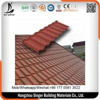 China Metro tile, galvalume steel plate stone coated metal roofing sheets for sale on sale