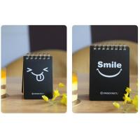 China spiral shaped custom memo pad,sticky memo pad,memo pad on sale