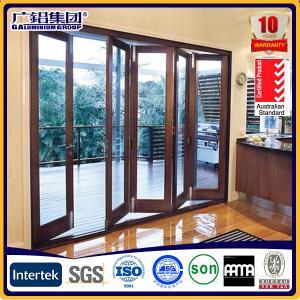 Buy cheap Most popular aluminium folding doors with various opening ways product