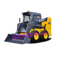 China Skid Steer Loader , Bucket Volume 0.45m3 , Load Weight 750kg , Discharge Height 2375mm on sale