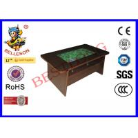 Buy cheap 32 Inch Screen Arcade Coffee Table At Game Stores Wooden Color Drawer Style product