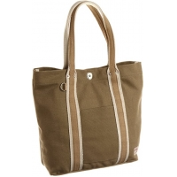 Buy cheap Brown Cotton 35*37*11CM 5oz Foldable Canvas Tote Bag from wholesalers