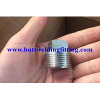 China ASTM A694 F42 / F52 / F60 / F65 / F70 ANSI S16.11 Forged Pipe Fittings Hex Head Plug on sale