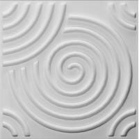 Buy cheap 3dboard wall decor panels 500*500 fiber eco wave panels with original colcor ripple product
