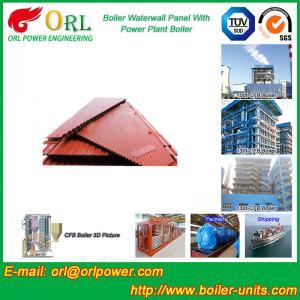 Buy cheap Vacuum Boiler Water Wall Panels / Water Tube Boiler Parts High Efficiency product