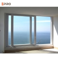 Buy cheap Double Glass Aluminium Sliding Windows With Grill product